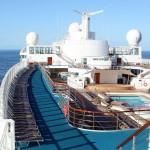 Costa Victoria en un crucero transatlantico