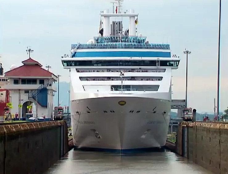 Crucero en Panamá