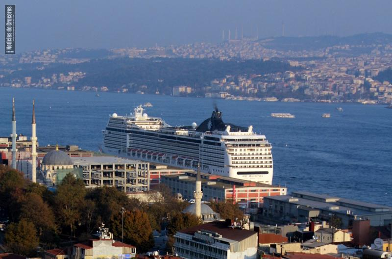 MSC_Magnifica_Estambul