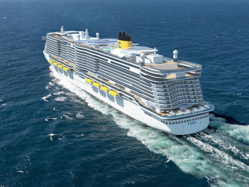 Nuevos barcos de Costa a GNL