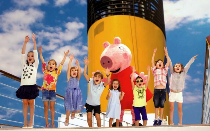 Peppa Pig en Costa Cruceros