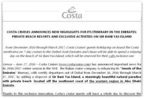 Comunicado Costa