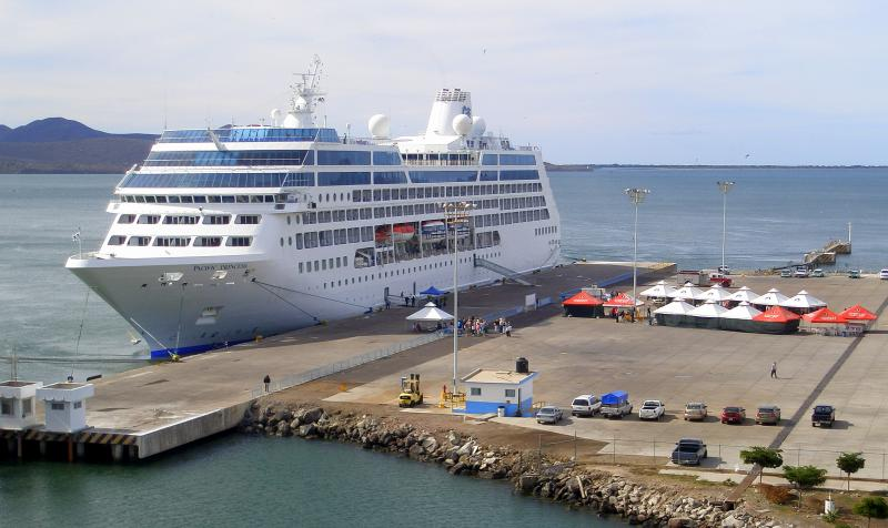 Pacific Princess en Topolobampo