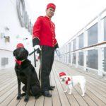 Perros en el Queen Mary 2
