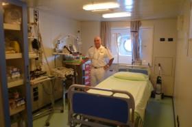 Enfermarse: Medico a bordo