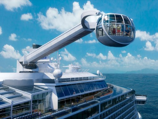"Conociendo al revolucionario ""Quantum of the Seas"""