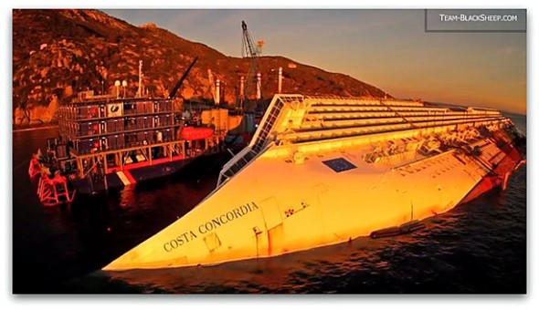 Costa Concordia by Black Sheep
