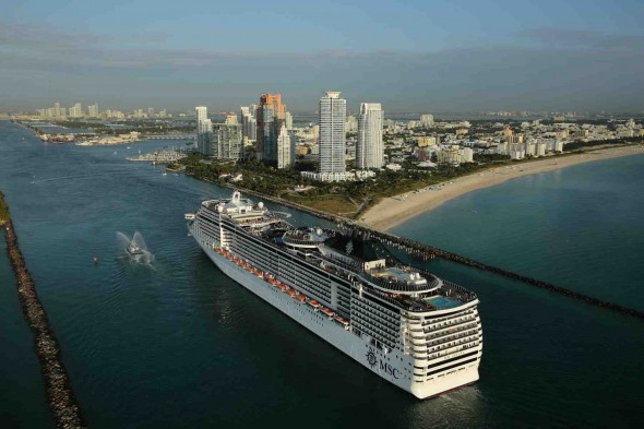 Miami recibe al MSC Divina