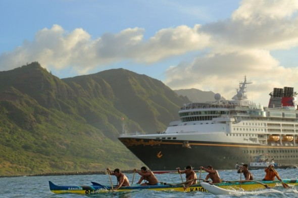 Disney Wonder en Hawaii