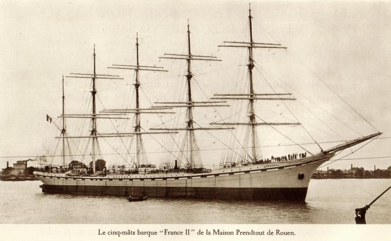 Flying Clipper inspirado en el France II