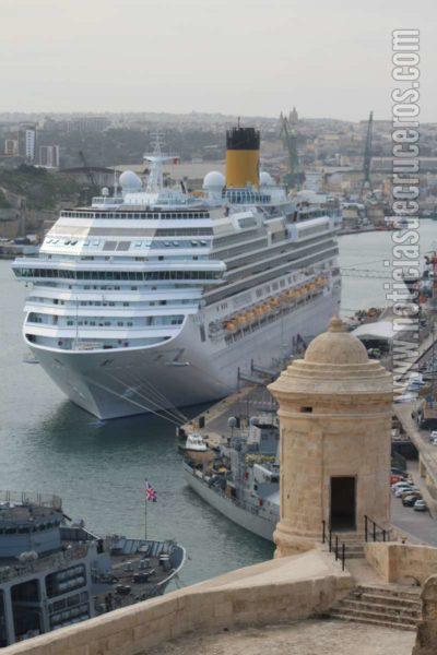 Costa en Malta - Mediterráneo