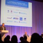 El Subsecretario de Puertos y Vías Navegables, Jorge Metz, en la Conferencia sobre Puertos, Hidrovías y Dragado