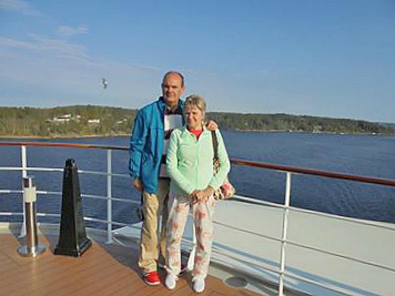 Mar Báltico Cristina y Rubén en el MSC Magnifica